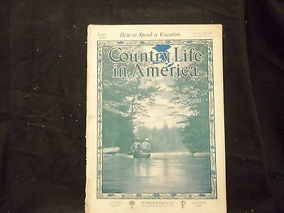 1905 June Country Life In America Magazine - Great Cover & Ads - St 1382