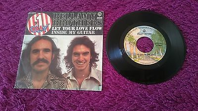 "Bellamy Brothers ‎– Let Your Love Flow , Vinyl, 7"", 1976 , Spain , 45-1373"