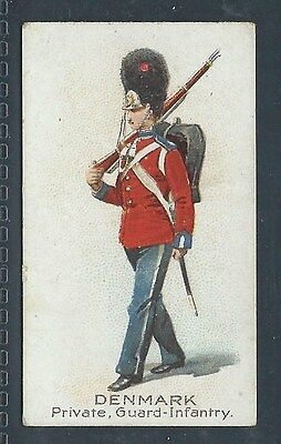 Bat British American Soldiers Of The World Plain Denmark Private Guard Infantry