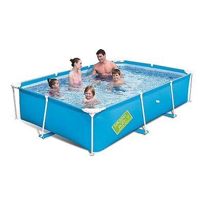 """Bestway My First Frame Pool 102"""" x 67"""" x 24"""" Above Ground Swimming Wading Pool"""