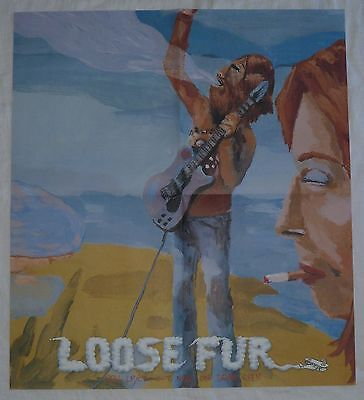 LOOSE FUR promotional POSTER wilco Jeff Tweedy LARGE original 2003 new MINT