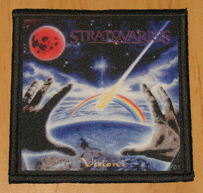 """STRATOVARIUS """"VISIONS"""" silk screen PATCH"""