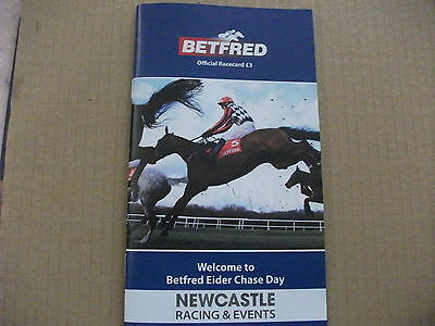 Newcastle Race Card 27Th February 2016 ~ The Eider Chase + Seeyouatmidnight