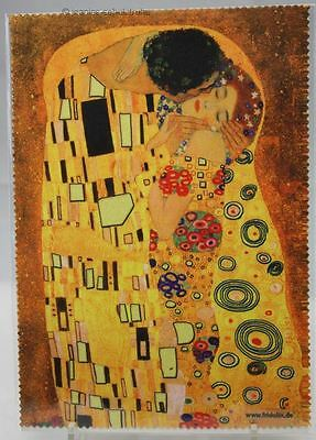 Glasses Cleaning Cloth / Microfiber Cloth / Cleaning Cloth Gustav Klimt The Kiss
