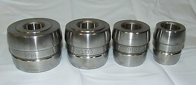 """AMMCO 4000 4100 RELS snap on 1"""" DOUBLE TAPER ADAPTER SET 9194 9193 9192 9922 A"""