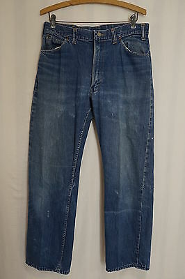 VINTAGE 60S PENNY'S RANCHCRAFT Selvage Denim Jeans 32 X 29