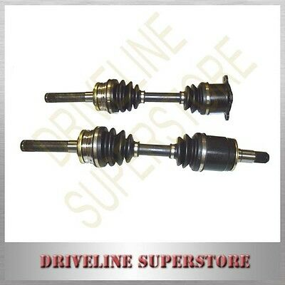 A set of CV JOINT DRIVE SHAFTS FOR MITSUBISHI CHALLENGER 3.0L V6 3/1998-2005