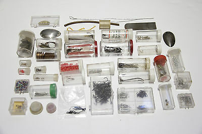 BIG Huge LOT of Vintage FLY TYING / LURE MAKING Items, All NEW (lot #41)