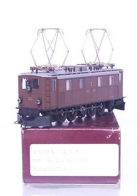 MINT BEMO 1291 113 HOm - SWISS RhB BROWN Ge 4/6  ELECTRIC LOCOMOTIVE No.353