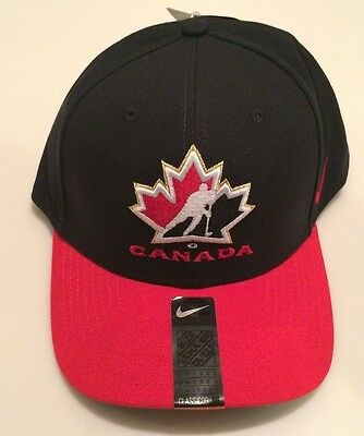 2017 World Juniors Championship Team Canada WJC IIHF Hat Cap Black Adjustable