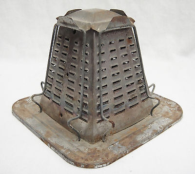 Vintage Metal 4 Slice Toaster for Camping or Stovetop Rusty Primitive Decor