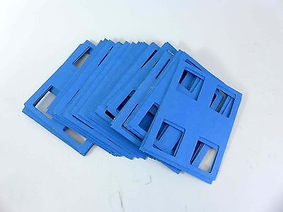 50 cardboard stereo realist foldovers - to protect aluminum or thin mounts