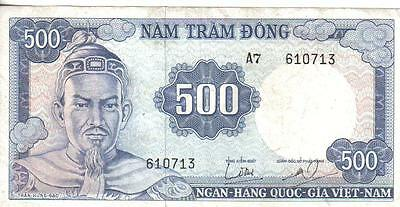 Vietnam South, 500 Dong, Nd(1966)