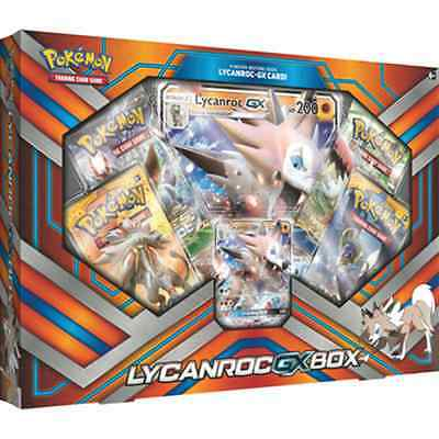 POKEMON XY * Lycanroc GX Box