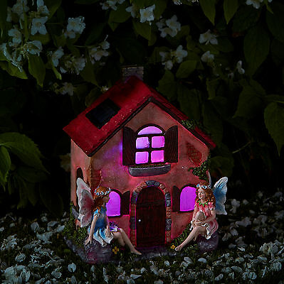 Smart Solar Fairies Only! Garden Patio Solar Lighting Ornament Elvedon Range