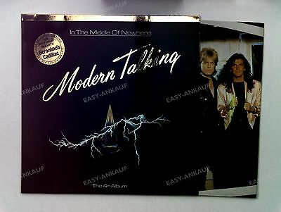 Modern Talking - In The Middle Of Nowhere Europe LP 1986 + Innerbag //4