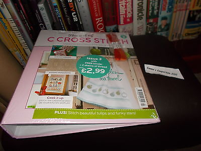 The Art Of Cross Stitch - Issue 3 - Free Binder/+2 Skeins Of Thread - New/sealed