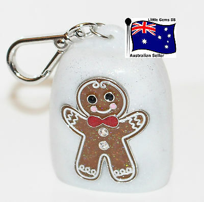 BATH & BODY WORKS 1 * GINGERBREAD MAN HOLDER * Pocketbac HAND GEL HOLDER