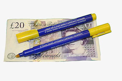 Qty 1 SMCO Counterfeit Forged Fake Money Note Detector Pen