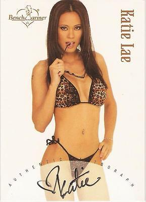 "Benchwarmer 2002 - ""Katie Lae"" Auto / Autograph Card"