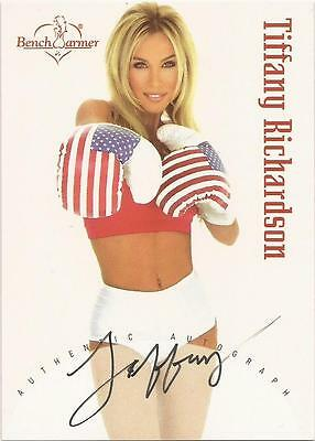 "Benchwarmer 2002 - ""Tiffany Richardson"" Auto / Autograph Card"