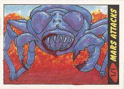 Mars Attacks Heritage - Dan Bergren Sketch Card