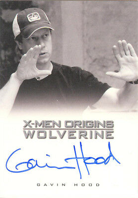 "X-Men Origins Wolverine - Gavin Hood as ""Director"" Auto/Autograph"