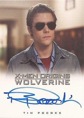 "X-Men Origins Wolverine - Tim Pocock as ""Scott"" Auto/Autograph Card"