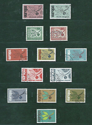 Europa CEPT 1965 Portugal and the others, 19 used sets