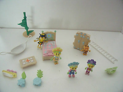 Fifi & The Flowertots Figures And Accessories For Watering Can House - Bundle