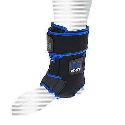 Shock Doctor Ice Recovery Compression Ankle Wrap Large/XLarge Item No. 752-01-30