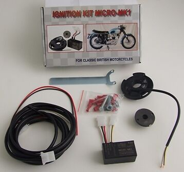 (C12) Wassell Electronic Ignition Kit Fits Bsa Triumph Norton Twins And Singles