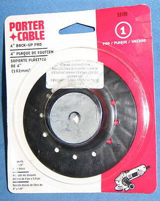 "PORTER CABLE #53199 4"" Back-Up Pad for Resin Fiber Discs"
