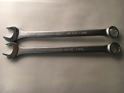 """Blackhawk BW-1171 Combination Wrench 1-1/16"""" 12-Point (2 Pieces)"""