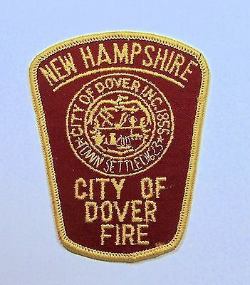 NEW HAMPSHIRE City of Dover Fire Department Service PATCH