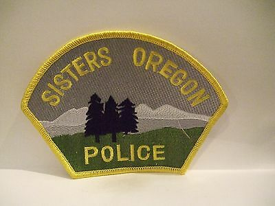 police patch   SISTERS POLICE OREGON