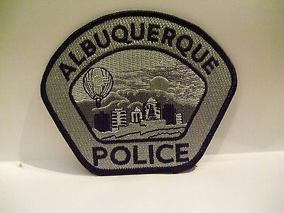 police patch  ALBUQUERQUE POLICE NEW MEXICO SUBDUED