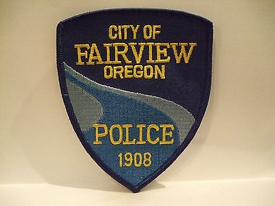 police patch   FAIRVIEW POLICE OREGON