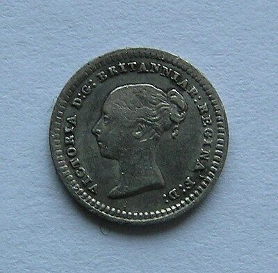 Great Britain Silver 1-1/2  pence 1862
