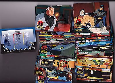1995 Skybox Batman The Animated Series DC Comics Card Set 1-90