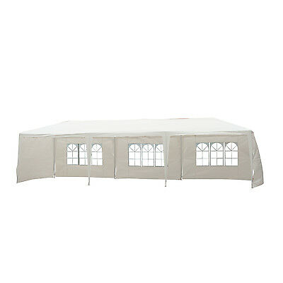 10'x30' Portable Wedding Party Tent Outdoor Event Camping Gazebo Canopy Sidewall