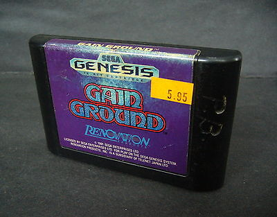 Sega genesis Gain ground game only cartrige clean & tested Must see