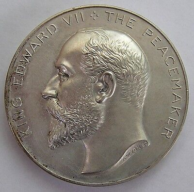 Great Britain Large Medal 1906 Edward VII by Allan Wyon