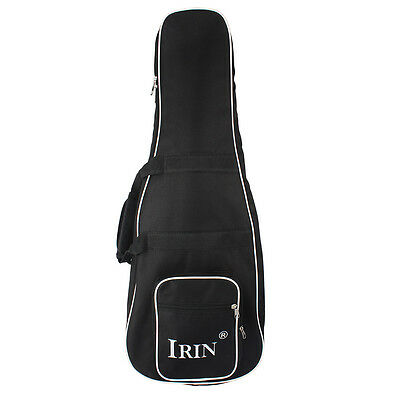 New IRIN Waterproof Oxford Cloth Backpack Mandolin Gig Bag Case Black