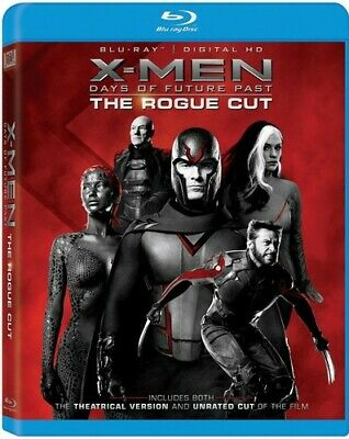X-Men: Days Of Future Past The Rogue Cut - 2 DISC S (2015, REGION A Blu-ray New)
