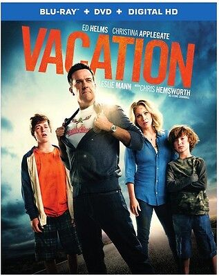 Vacation - 2 DISC SET (2015, REGION A Blu-ray New)