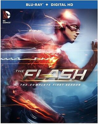 Flash: The Complete First Season - 4 DISC SET (2015, REGION A Blu-ray New)