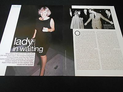 CAMILLA PARKER BOWLES magazine clippings *** Duchess of Cornwall Prince Charles