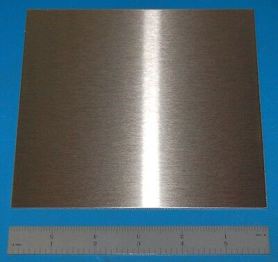 """Stainless Steel 304 Sheet, .060"""" (1.5mm), 6x6"""""""