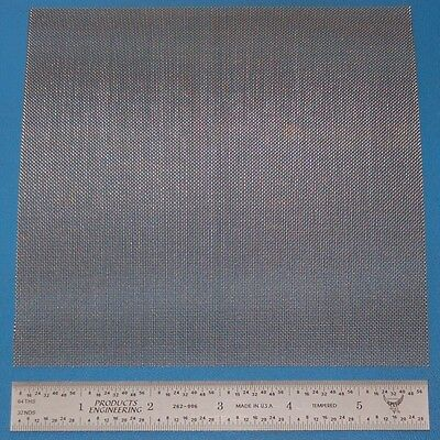 """Stainless Steel 35-Mesh (500 micron), .010"""" Wire, .019"""" Wd, 6x6"""""""